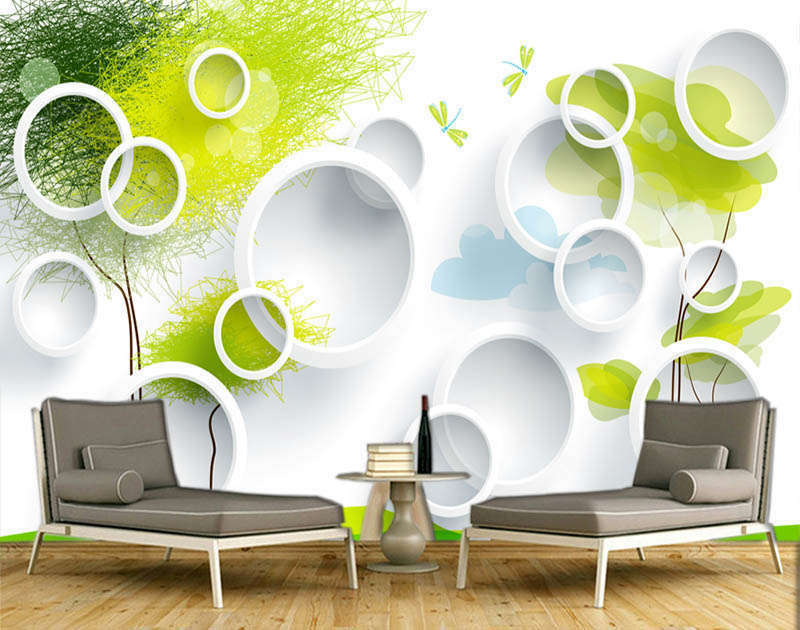 Funny Vivid Plant 3D Full Wall Mural Photo Wallpaper Printing Home Kids Decor