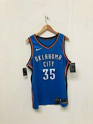 Nike Men's Oklahoma City Thunder City Icône Jersey Large Snake 35 Bleu Neuf | eBay
