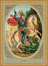 Santo Georg draghi martiri cavallo armamenti HLG. ST. LW Sankt a2 0086