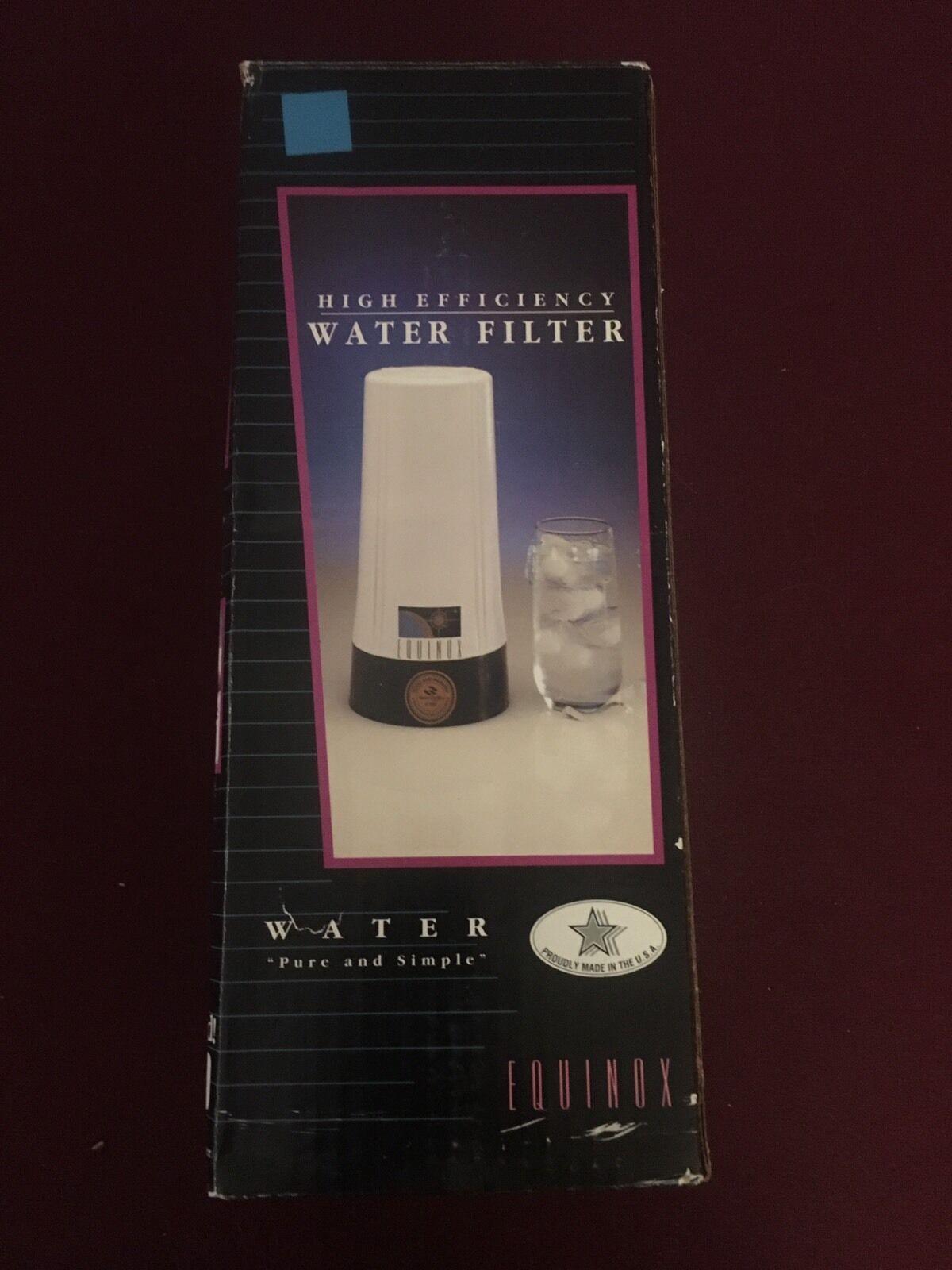 Equinox High Effeciency Tap Water Filter