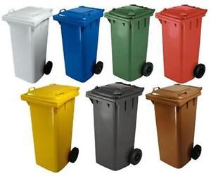 Bidone pattumiera raccolta differenziata 120 l con - Contenitori spazzatura casa ...