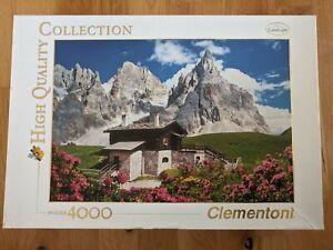 CLEMENTONI-Puzzle-4000-Pieces-Jigsaw-Puzzle-Dolomites-montagnes-Italie-34510