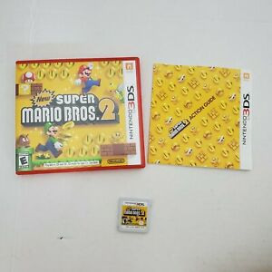 Nintendo-3DS-Super-Mario-Bros-2-Rated-Everyone-E-Adventure-Video-Game-Complete