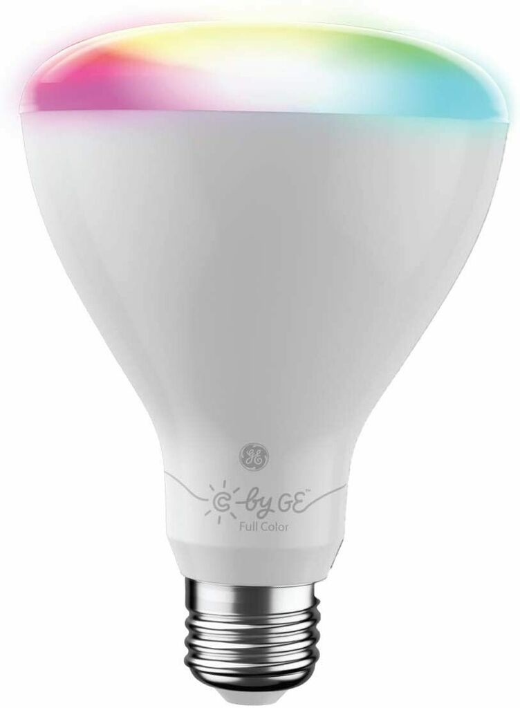 C by GE Full Color BR30 Direct Connect Smart LED Bulbs (2-Pack)   Ebay