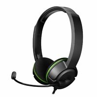 Turtle Beach Ear Force XLa Gaming Headset Xbox 360 Headphones w Mic Black/Green