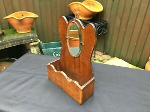 antique-edwardian-oak-hall-mirror-with-glove-candle-box