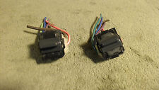 1992 Oldsmobile Cutlass rear window switchs right and left and with pigtails