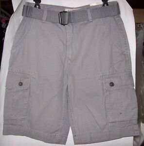 9dbc328b2f Image is loading MENS-ARIZONA-BELTED-RIPSTOP-CARGO-SHORTS-MULTIPLE-COLORS-