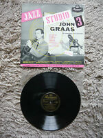 John Graas Jazz Studio 3 Original Brunswick LAT 8069 Vinyl Record Gerry Mulligan