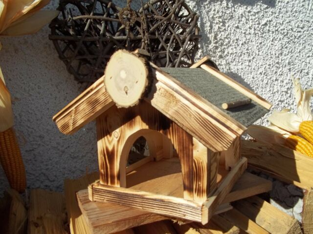 Vogelhaus Vogelhäuschen Futterhaus zum Anhängen Kunststoff mit Kette