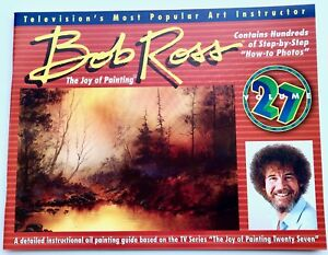 JOY OF PAINTING companion Book to #27 TV SERIES THIRTEEN FAB PAINTINGS BOB ROSS
