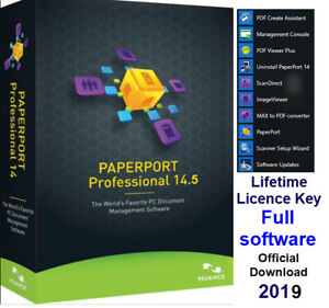 Details about Nuance PaperPort 14 5 Professional scanning,  converting,editing documents-Full