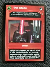 CCG STAR WARS RARE CARD CARTE Enhanced Cloud City Any Methods Necessary NM