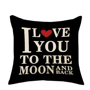 Am-BL-DV-Love-Dream-Hug-Peace-Pillow-Cover-Cushion-Case-Home-Car-Sofa-Bedroom