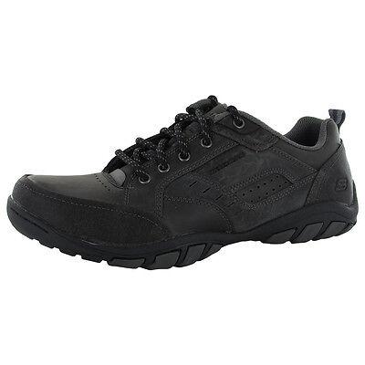 Skechers Mens 63986 Dixon Spyden Leather Casual Shoe