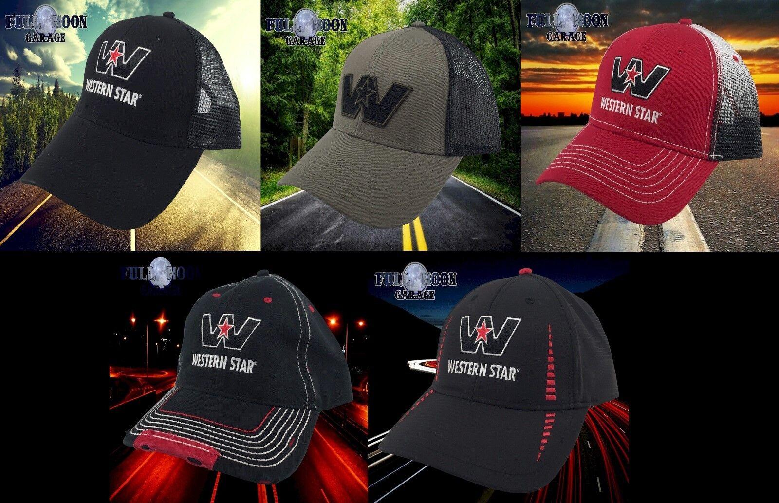 New Snapback Western Star Trucks Tractor Trailer Trucker Mens Snapback New Cap Hat d282cd
