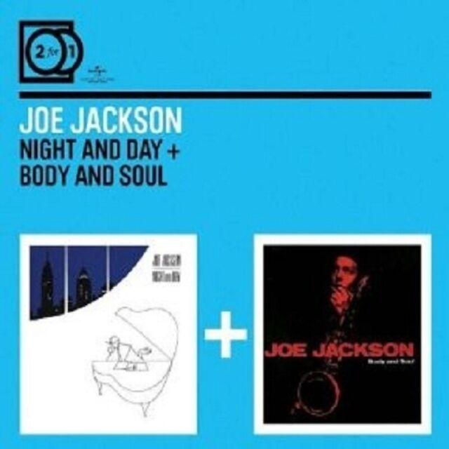 "JOE JACKSON ""NIGHT & DAY/BODY & SOUL"" 2 CD NEW"