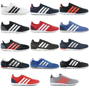 Adidas Herren Sneaker V Racer 2.0 Schwarz Weiß SALE