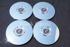 Cadillac Escalade chrome wheel center cap hubcap EXT ESV 4575 4584 Set of 4