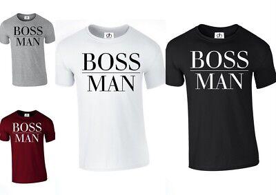 B.MAN,TSHIRT Boss Man Lady Matching Couple T-shirt Wifey King Queen GirlFriend