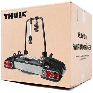 Thule-Bike-Carrier-2-935-Fahrradtraeger-fuer-2-Fahrraeder-die-Anhaengerkupplung-NEU