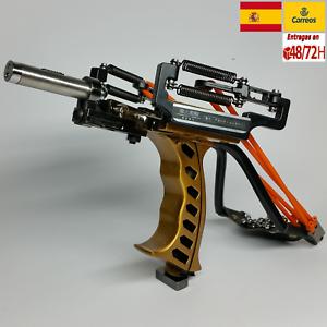 Tirachinas slingshot de acero deportivo profesional competició ENVIO 48H caza