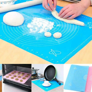 Silicone-Cut-Mat-Dough-Rolling-Fondant-Pastry-Icing-Cake-Baking-Kitchen-Tool