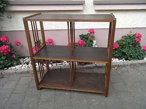 Art deco regal b cherregal fernsehtisch etagere lowboard ablag wandregal bauhaus ebay - Wandregal bauhaus ...