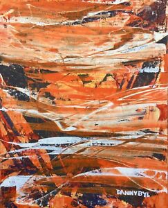 LARGE-CONTEMPORARY-ORIGINAL-MODERN-ABSTRACT-Tiger-PAINTING-ART-Dan-Byl-4x5ft