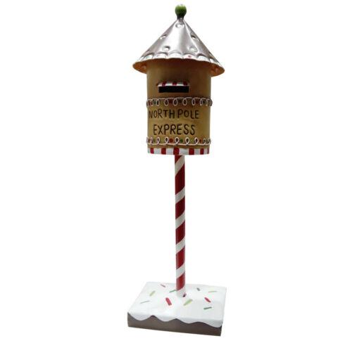 Weihnachtlicher Deko Briefkasten 40cm Tischdeko Mailbox Weihnachtsdeko