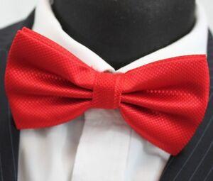 Bow Tie. Red. Premium Quality. Pre-tied. Bt29-afficher Le Titre D'origine Les Produits Sont Vendus Sans Limitations