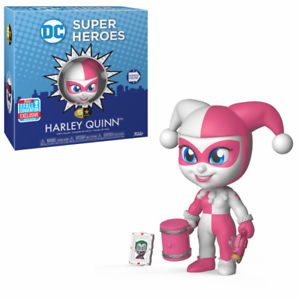Pink Harley Quinn 5 Star DC Super Heroes Vinyl Figure NYCC 2018 Fall Convention