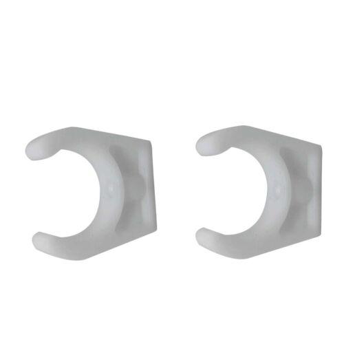 Haken Lagerung Clips Bootshaken Clip 2 Stk.1 3//4 Zoll Bootsleiter Verstauen