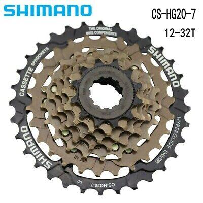 7-Speed Road//MTB//Hybrid Bike Cassette 12-32 CS-HG20-7 HyperGlide 12-32T