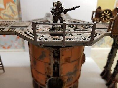 Buono Warhammer 40k Killteam Necromunda Recinzione-fit Settore Meccanico-mostra Il Titolo Originale