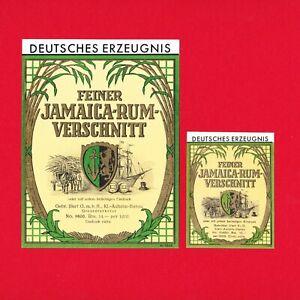 VK-Schnaps-Etiketten-Feiner-Jamaica-Rum-Verschnitt-Gebrueder-Illert-GmbH-Hanau