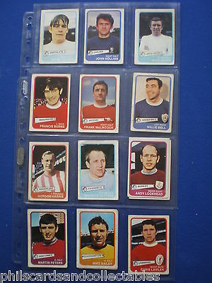 VGC A/&BC Yellow Back Football Cards 1st Series 1968 Pick The Cards You Need