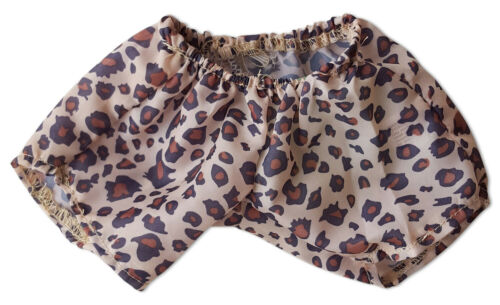 """Shining Star and 8/""""-10/"""" Make Your Own St Leopard Boxers Fit Most 8/""""-10/"""" Webkinz"""
