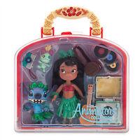 Disney Store Animators' Collection Lilo & Stitch Mini Doll Play Set 5'' Case