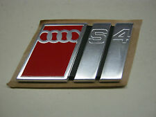 Audi S4 C4 Emblem Schriftzug 4A9853735 Heckklappe Avant A6 V6 V8 20V Turbo