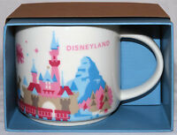 Disneyland Exclusive Starbucks You Are Here Special Edition Mug 2015 In Box