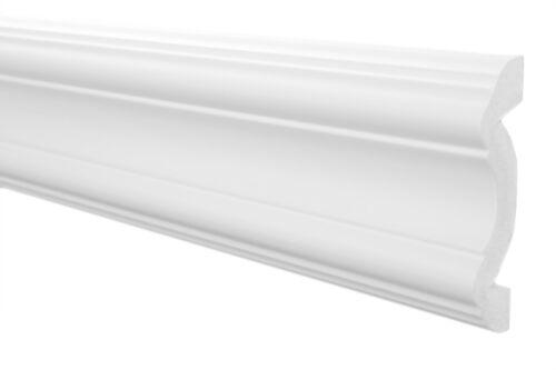 20 Mètres Profils Plats Bordure Mur Corniche de Plafond polystyrène XPS Stable