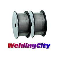 """WeldingCity 2-pk E71T-11 0.030"""" 2-lb Roll Gasless Flux Cored MIG Welding Wire"""