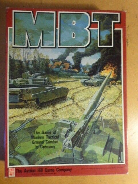 MBT Part Unpunched & COMPLETE Avalon Hill