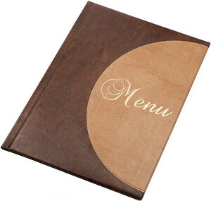 10-X-MENU-COVER-A4-presenter-12-menu-pages-PUB-folder-CAFE-holder-RESTAURANT