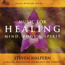 Sound Medicine: Music for Healing by Steven Halpern (CD, Jan-2003, The Relaxation Company)