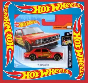 Hot-Wheels-2019-039-71-Datsun-510-97-250-neu-amp-ovp
