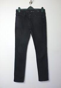 LEVI-S-black-stretch-denim-Demi-Curve-Modern-Rise-Skinny-jeans-29W