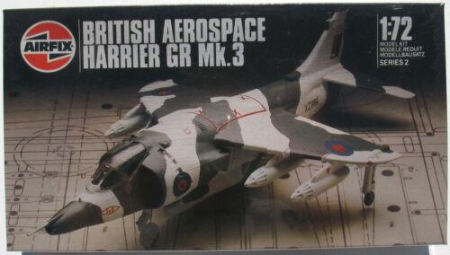 AIRFIX 02072 BRITISH AEROSPACE HARRIER GR Mk.3-1:72 KIT Flugzeug Bausatz