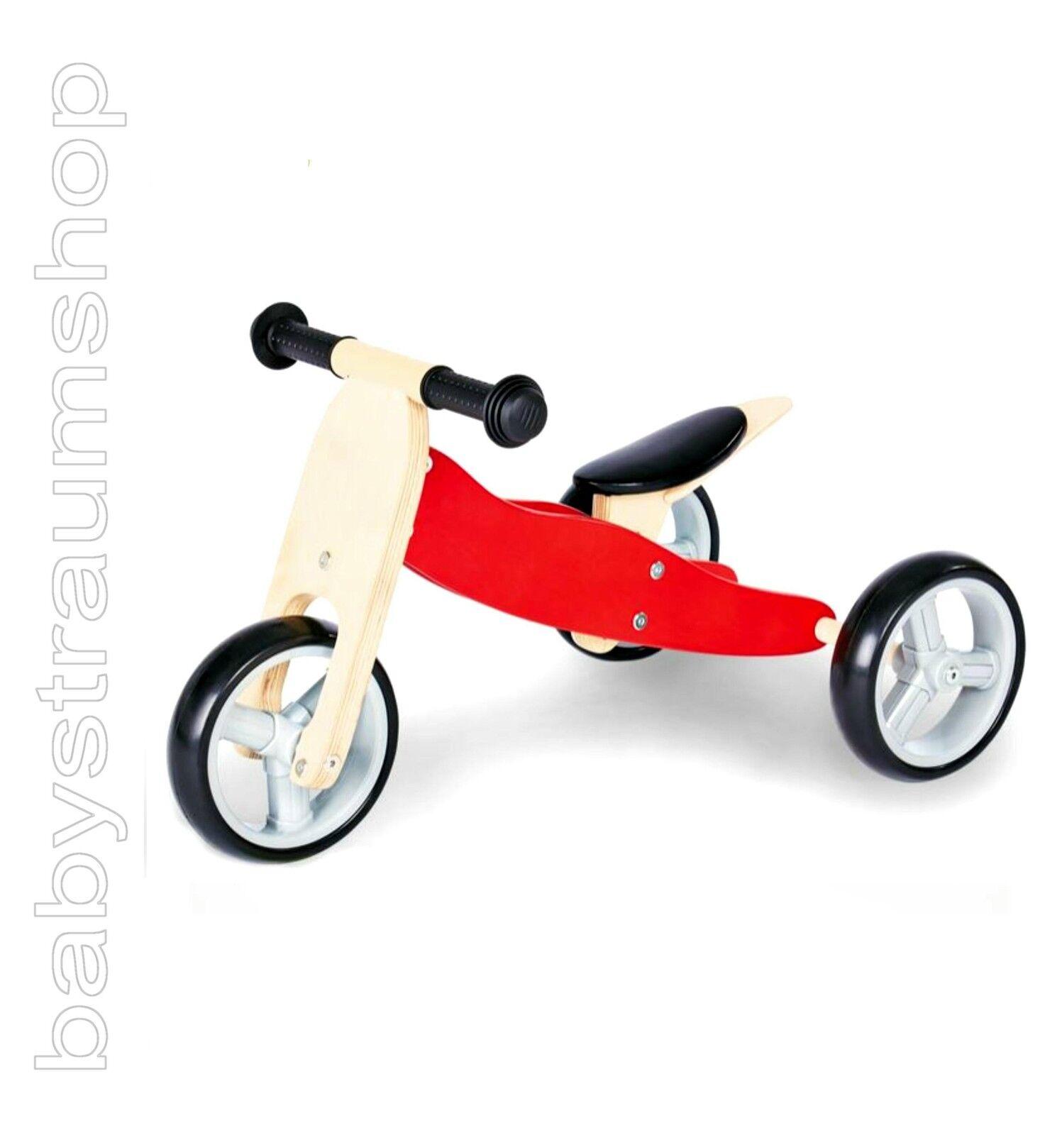 PINOLINO Laufrad Lauflernrad Minilaufdreirad Dreirad Trike Chopper 4in1 CHARLIE